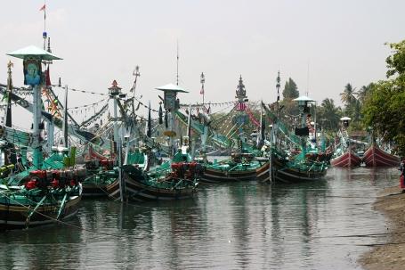 Bateaux à Bali