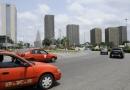 quartier moderne d'Abidjan