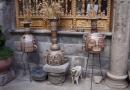 dans l'atelier de poterie d'Antonio Olave