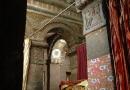 A l'intérieur de l'église taillée dans la roche de Bet Maryam de Lalibela