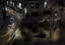 Lausanne, Flon, nuit
