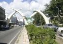 Avenue à Mombasa
