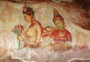 Fresques à Sigirya