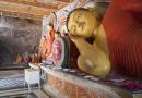 Bouddha allongé à Anuradhapura