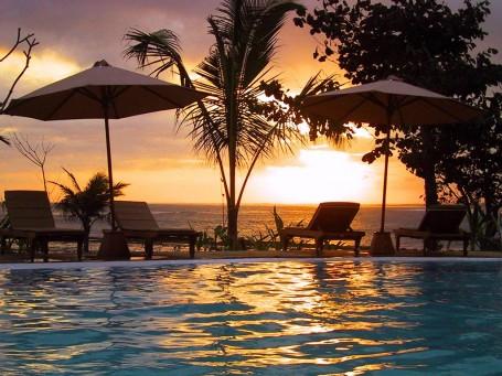 Sunset pool Bali