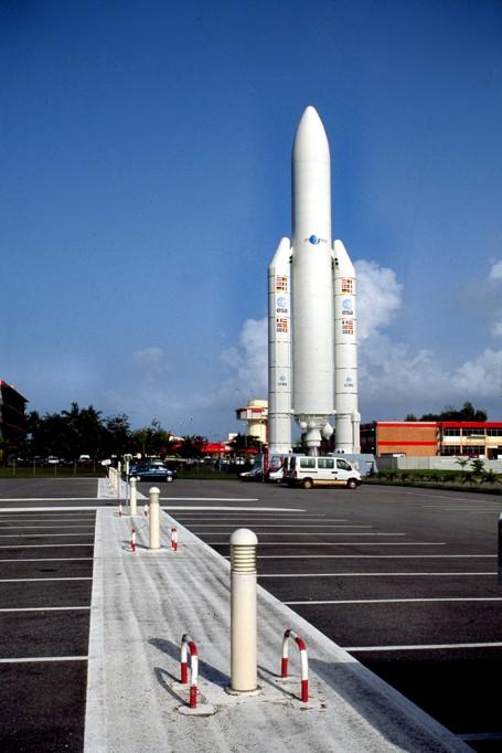 Fusee Ariane, Base spatiale de Kourou, Guyane