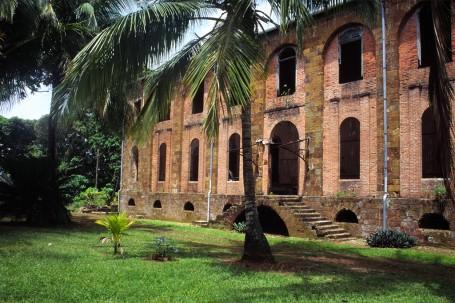 Hôpital du bagne de l'ïle Royale, Guyane