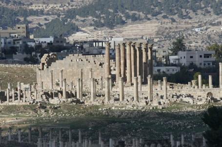 Ruines archéologiques de Jerash