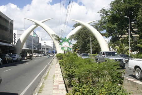 Moi Avenue à Mombasa