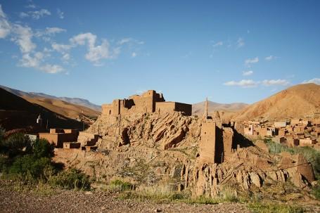 asbah dans la vallée du Dadès
