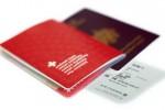 Passeports et carte d'embarquement