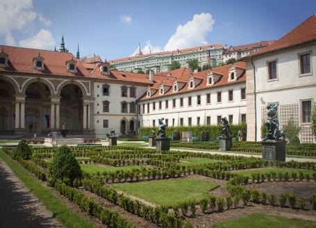 Palais Wallenstein, Malà Strana, Prague © Gérard Blanc