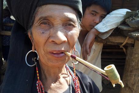Habitante du Myanmar