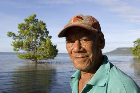 Aboriginal Elder, Elim Beach