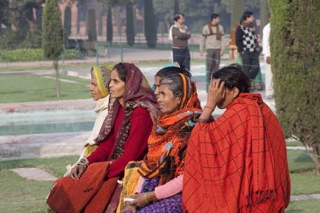Visiteuses à Agra