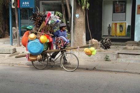 Vélo, Phnom Penh