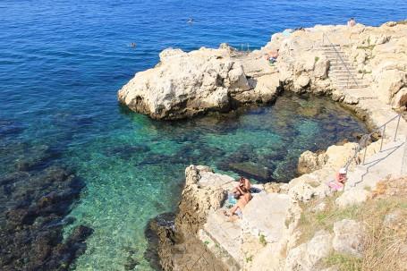 Crique pierre blanche, Istrie