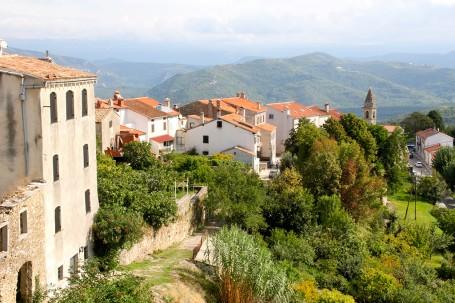 Le village de Motovun, Istrie