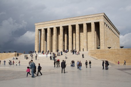 Ankara - mausolee Ataturk