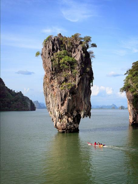 Khao Tapu of Phang-Nga Bay National Marine Park, Phang-Nga