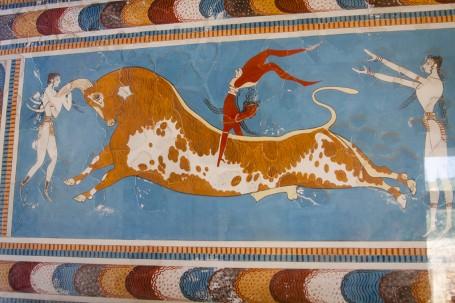 Minotaure, Crete