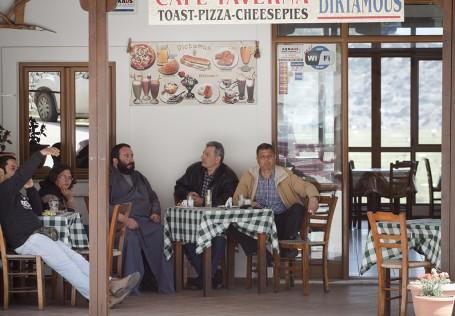 Terrasse cafe Crete