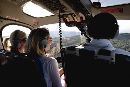 Helicopter a la Reunion