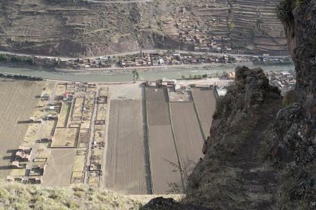 Vue de la Vallée depuis le Chemin de l'Inca