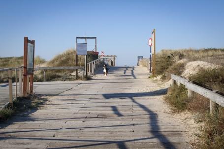 Ponton dune, O Grove, Galice