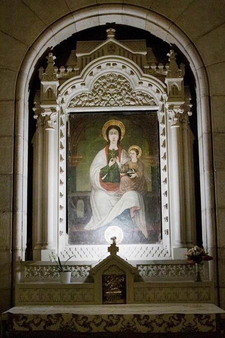 tableau de la Señora de la flor de Lys