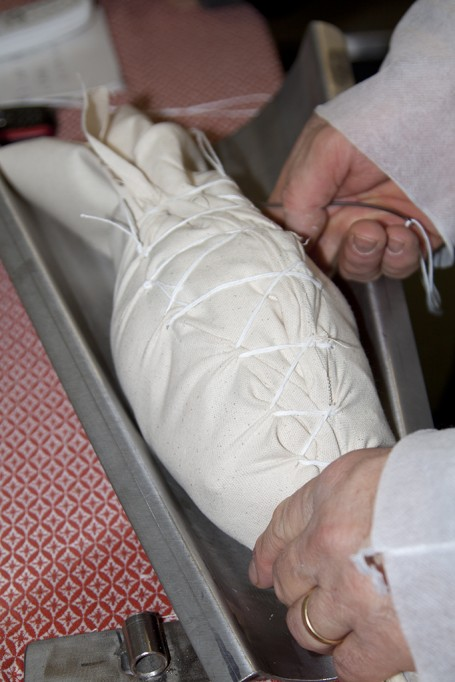 Emballage de poule de Bresse