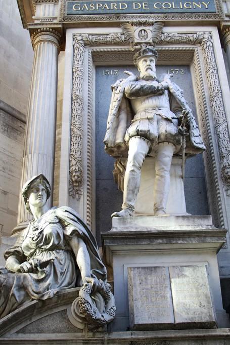 Statue de Coligny
