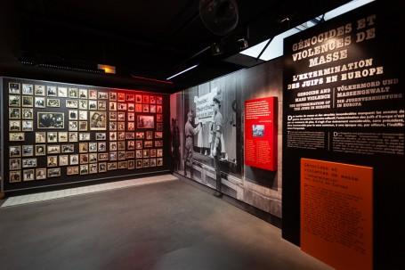 espace génocide et violence de masse © Le Mémorial de Caen